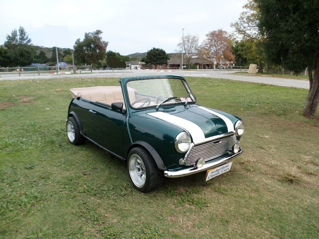 1984 austin mini convertible 1275 e sold 2016. Black Bedroom Furniture Sets. Home Design Ideas