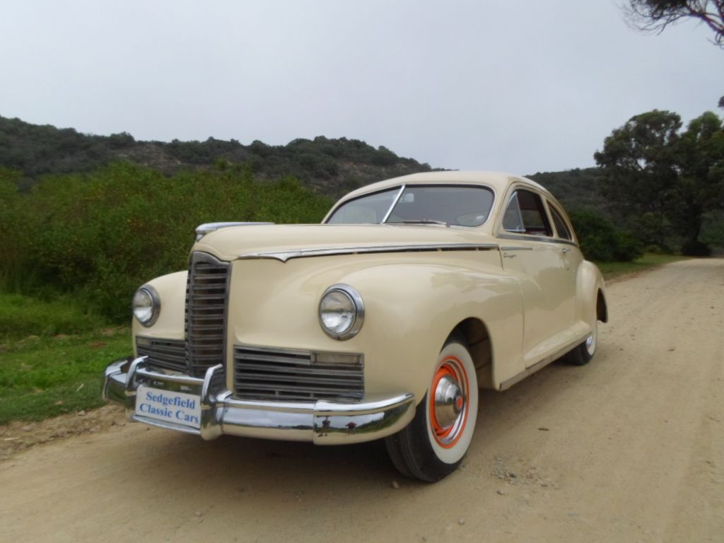 Sold By Sedgefiled Classic Cars 1941 Ford Station Wagon 1947 Packard Clipper 6 Coupe 2015