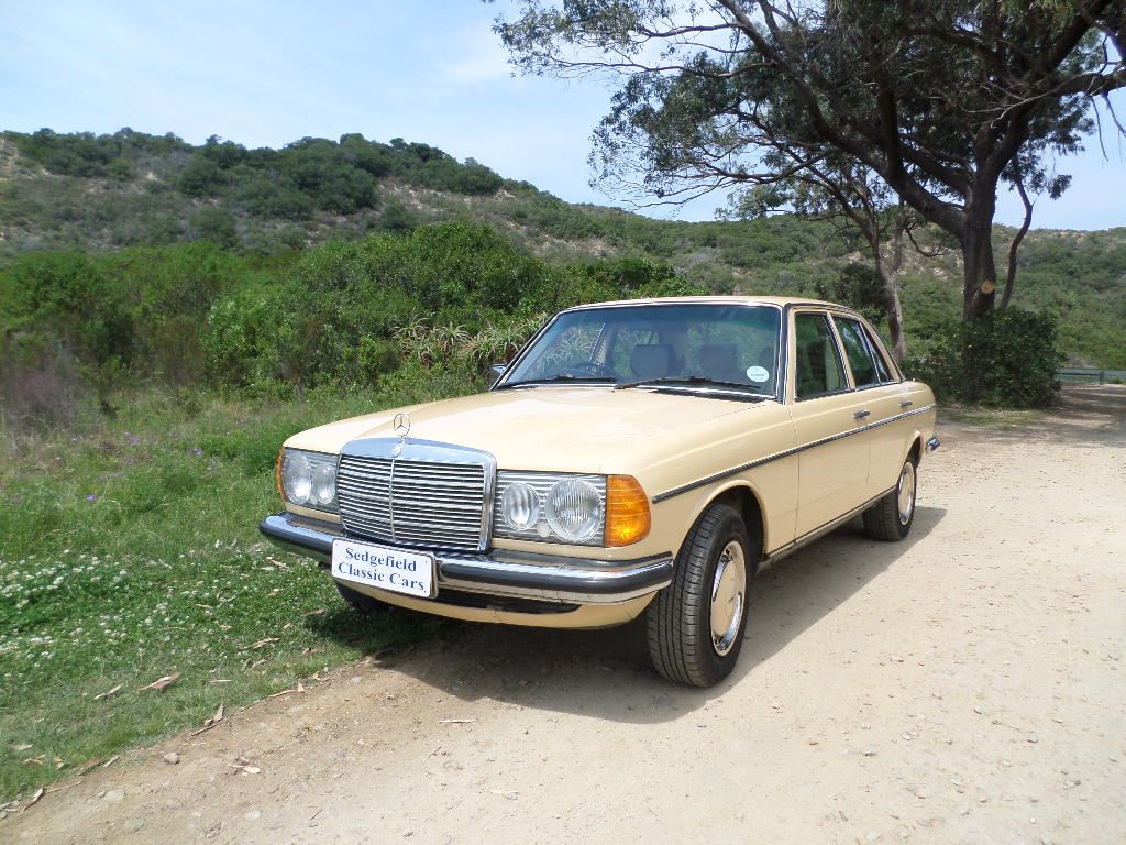 1984 mercedes benz 230 e automatic sold 2017 for Mercedes benz 230 2017