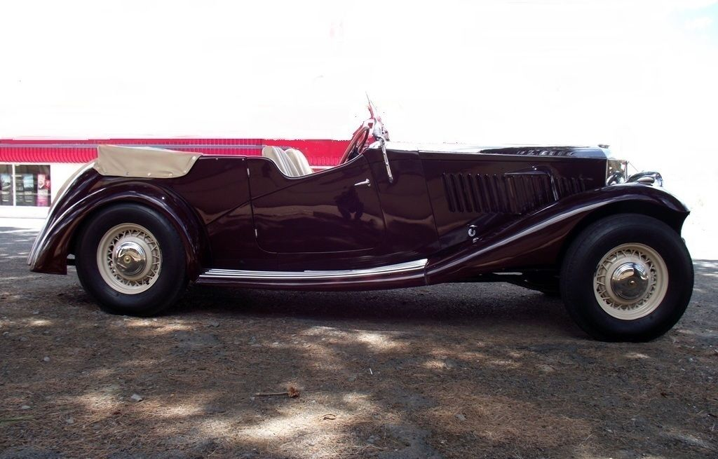 1936 Railton Tourer 8 Cylinder - SOLD 2016