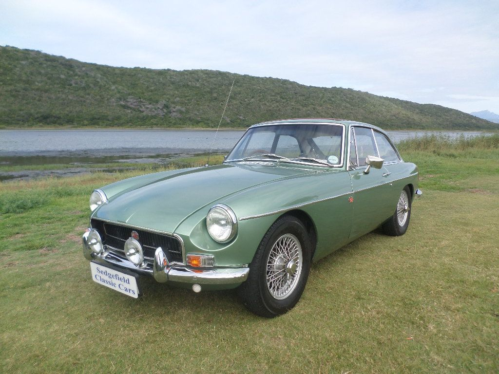 1972 MGB GT 1800 + Overdrive - SOLD 2019
