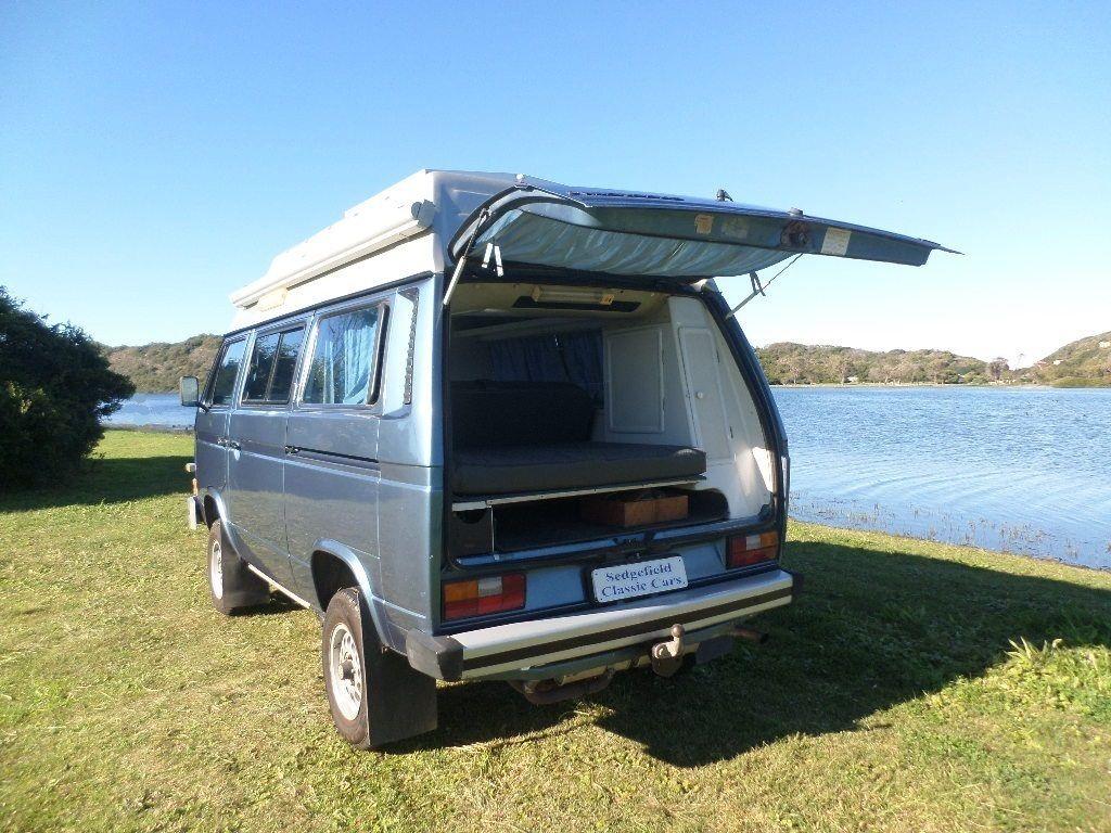 1989 Vw Kombi Syncro Camper 2 1 L